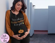 We're Adding a Little Pumpkin to our Patch Tshirt, Fall Baby Reveal Shirt, Autumn Pregnancy Announcement, Gift for Her