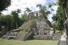 Nakum, Petén, Guatemala. Maya archaeology