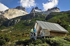 Los Cuernos refuge, Torres del Paine National Park, Patagonia - Chile
