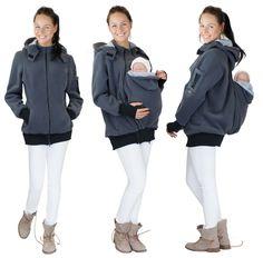 4in1 Baby carrier sweater - 4in1 Kangaroo hoodie de GoFuture sur DaWanda.com