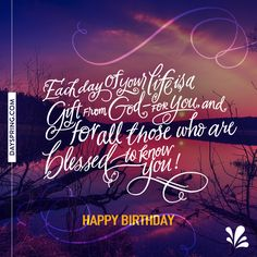 Free inspirational birthday cards for friends religious birthday happy birthday see more ecard studio dayspring bookmarktalkfo Choice Image