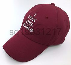 9826c3c2686 I Feel Like Pablo Hat Cap In Burgundy Yeezy Yeezus Kanye West The Life Of  Pablo