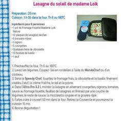 Recettes de Mme Loïk