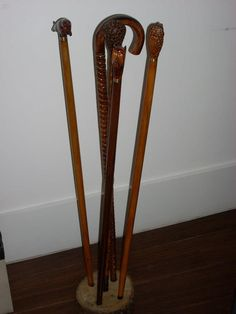 Miguas walking sticks / Bengalas Miguas