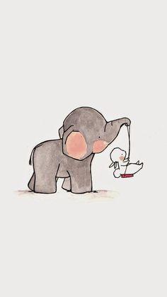 Similar Items like Swing Nursery Art Child Wall Art Boy Nursery Girl Nursery Rabbit Bunny Elephant on Etsy Illustration Mignonne, Cute Illustration, Watercolor Illustration, Bunny Nursery, Nursery Art, Girl Nursery, Elephant Nursery, Elephant Art, Baby Elephant
