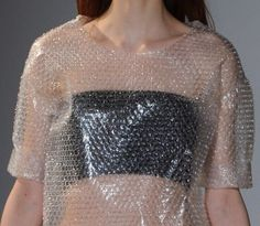 Maison Martin Margiela FW 2014 no. Fashion Art, High Fashion, Fashion Show, Fashion Outfits, Fashion Design, Haute Couture Style, Recycled Dress, Recycled Costumes, Recycled Fashion