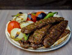 Vegansk kebab koobideh - ZEINAS KITCHEN Sausage, Steak, Veggies, Vegetarian, Kitchen, Food, Kebab, Amazing, Vegetable Recipes