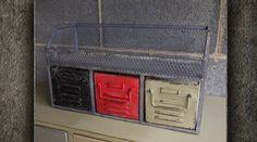 Meuble 3 tiroirs style industriel