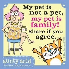My pets are family