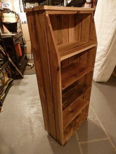 Pallet Shelves Projects 1001 Pallets, The place for repurposed pallets ideas - Image: Pallet Crates, Pallet Shelves, Wooden Pallets, Pallet Cabinet, Pallet Benches, Pallet Bar, Outdoor Pallet, Pallet Sofa, Outdoor Sheds