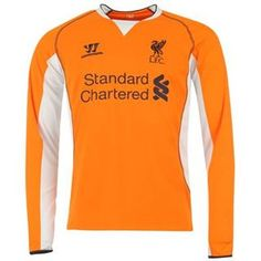 2012-13 Liverpool Goalkeeper 3rd Shirt (Orange) [,WSTM210] - 80,90$ : Football Shirts, Football Kit and Football Strip - UKSoccershop.com - Official Soccer Merchandise