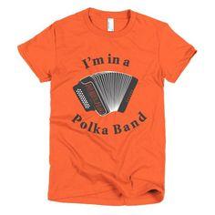Women's Polka Band T-shirt