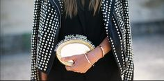 Message Clutch. Streetstyle