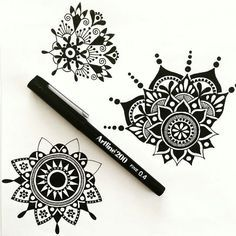 mandalas with lovely contrast