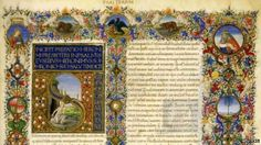 The Vatican Library has begun digitising its priceless collection of ancient manuscripts.