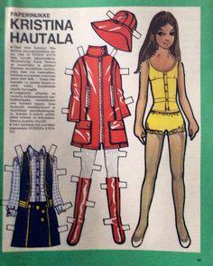Paper doll Kristiina Hautala
