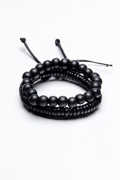 Fad Treasures Beaded/Leather Bracelets $7.99