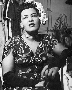 Billie Holiday classic style