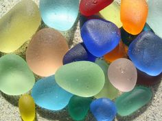 Love it: Sea Glass. Loved collecting it growing up on my NJ beaches.