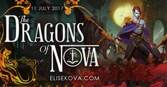 Blog Tour, Guest Post & Giveaway: Dragons of Nova by Elise Kova [Read More: http://bookcrush.in/blog-tour/guest-post-dragons-of-nova-by-elise-kova/]