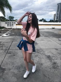 Best Teen Fashion Part 38 Teen Fashion, Fashion Outfits, Womens Fashion, Look Fashion, Tattoo Asian, Only Shorts, Summer Outfits, Cute Outfits, Foto Casual