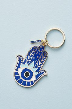 So pretty! Idlewild Co. Charmed Keychain #anthropologie #anthrofave #anthrohome #keychain #ad