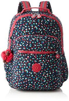 Kipling - CLAS SOOBIN L - Grand sac à dos - Festive Camo - (Multi-couleur) cq3bg