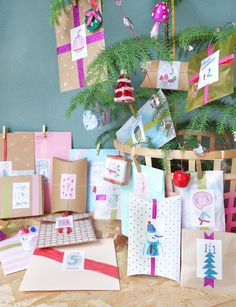 Free Printable Advent Calendar Numbers Dowload
