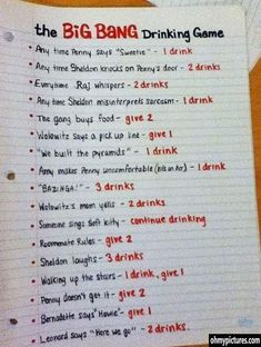 Worse than the Josh Becket drinking game!