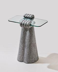 studio HAK creates sculptural furniture with oversized aluminium paws