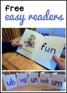TEACH YOUR CHILD TO READ - Get five free easy readers that focus on the short u sound. Bright, appealing, and funny! - Super Effective Program Teaches Children Of All Ages To Read. Phonics Books, Phonics Reading, Phonics Activities, Kids Reading, Reading Activities, Reading Skills, Teaching Reading, Fun Learning, Teaching Kids