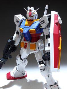 1/60 PG RX-78-2 ガンダム 塗装済完成品_画像2 Mobile Suit, Gundam, Auction