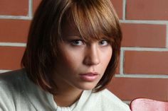 bob haircuts with bangs | with bangs are a look that will never go out of style. This demi bob ...