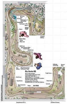 Rio Verde RR - from Track Plan Database | ModelRailroader.com