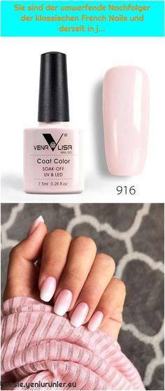 #colors #der #derzeit #French #gel #high #klassischen1. Vibrant Gel Nail Polish, 60 Colors, Perfect Manicure, High Reviews Vibrant Gel Nail Polish, 60 Colors, Perfect Manicure, High Reviews We are want t... Gel Nail Polish, Gel Nails, Manicure, French Nails, Used Iphone, Vibrant, Colors, Gel Nail, Nail Bar
