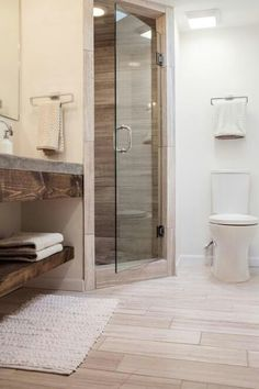 Stand up shower remodel by Joanna Gaines, Fixer Upper