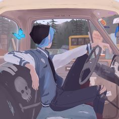 Life Is Strange Fanart, Life Is Strange 3, Strange Art, Arcadia Bay, Character Art, Character Design, Dibujos Anime Chibi, Chloe Price, Arte Sketchbook