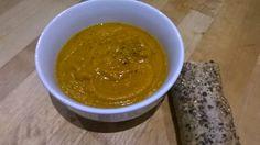 Recipe - Carrot, cardamom & caramelised onion soup