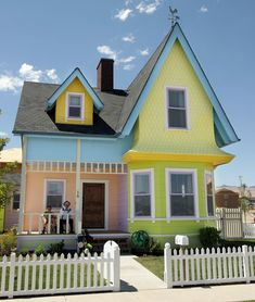 """I want to see the """"Up House!"""""""