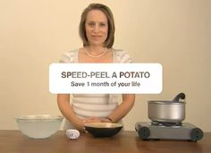 How To: Peel A Potato In 10 Seconds