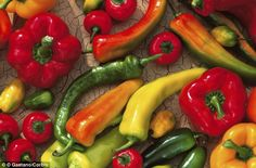 Eating peppers twice a week could help reduce the risk of developing Parkinsons disease by up to a third