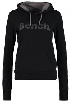 Bench - YOHSTAR - Hoodie - jet black Bench Clothing, Cheap Designer Purses, Cool Coats, Hoodies For Sale, Yoga Fashion, Zip Up Sweater, Athletic Outfits, Yoga Leggings, Workout Wear