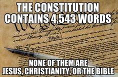 "If you are a Christian, that's fine. But don't be so arrogant as to insist that we are a ""Christian nation"", because our founders were wise enough to realize that mixing church and state is a big no-no."