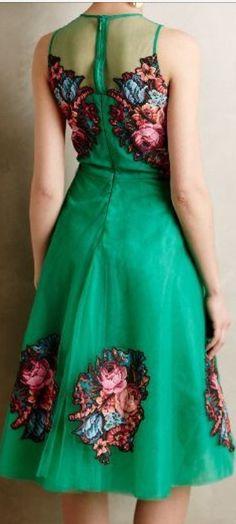 Beautiful Green Cocktail Dresses