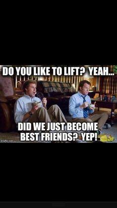 Lifting buddies lol
