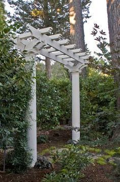 - Corner Pergola DIY How To Build - Pergola Bois Design - - Pergola Bois Persienne Wisteria Trellis, Wisteria Pergola, Pergola Swing, Cheap Pergola, Outdoor Pergola, Backyard Pergola, Pergola Shade, Outdoor Landscaping, Pergola Plans