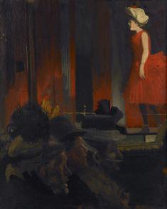 The Music Hall - Walter Richard Sickert 1888-89 Post-impressionism