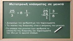 Κλασματικοί Αριθμοί Kgi, Personalized Items, Math, Math Resources, Mathematics