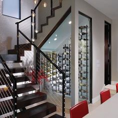 I can dream............ Wine Cellar Under Stairs
