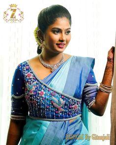 New Saree Blouse Designs, Blouse Designs High Neck, Cutwork Blouse Designs, Simple Blouse Designs, Stylish Blouse Design, Mirror Work Blouse Design, Designer Blouse Patterns, Sarees, Salwar Dress